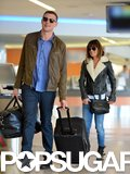 Cory Monteith reunited with girlfriend Lea Michele after completing his stint in rehab.