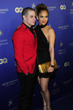 Jennifer Lopez and Casper Smart attended the Hakkasan grand opening in Las Vegas on Saturday.