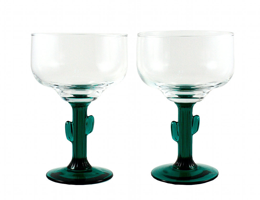 Cactus Margarita Glasses