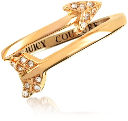 Juicy Couture Pave Arrow Ring