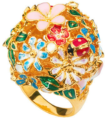 Bill Skinner Floral Orb Ring
