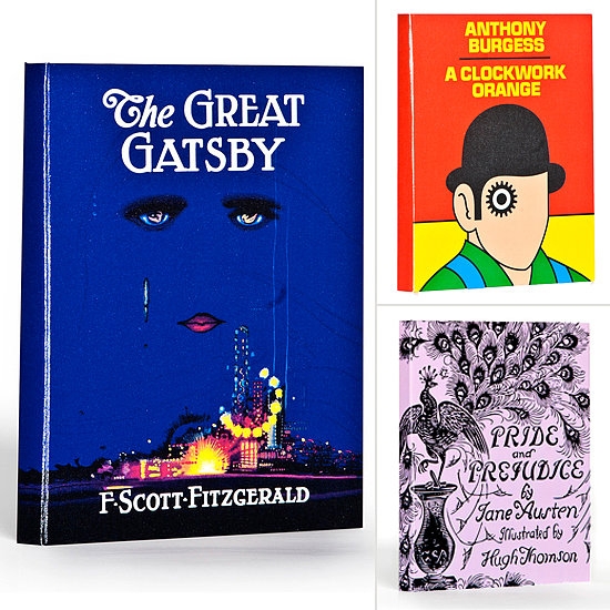 Lit Love: iPads Outfitted in Iconic Book Covers
