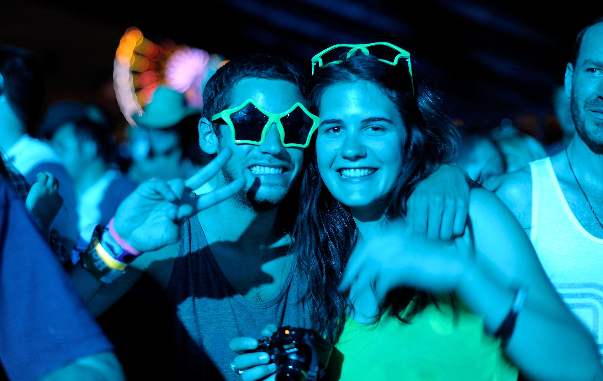 Seeing stars, these music fans got close at the Coachella Valley Music & Arts Festival.