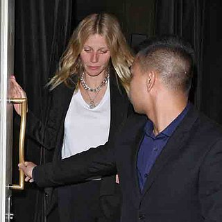 Gwyneth Paltrow beim Dinner mit Chris Martin in London