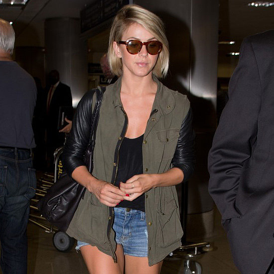 Julianne Hough Is the Latest Star to Prove the Power of an Army Jacket