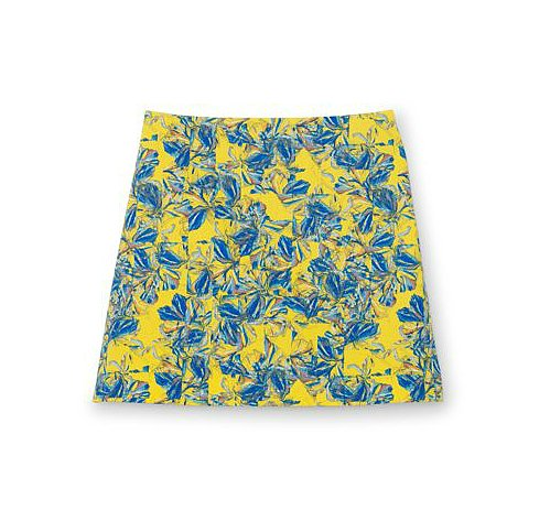 What's not to love about this Club Monaco Rowan skirt ($130)? It's colorful — in a very impressionist kind of way — without seeming loud; plus, the cut is flirty and flattering. I'm looking forward to wearing this with tamer pieces, like one of my beat-up white tees. — Marisa Tom