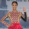 Zoe Saldana Star Trek Style in Germany | Video