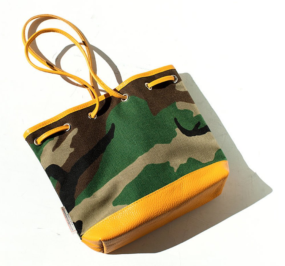 As the weather gets warmer, I want everything to feel lighter. So, this Bags in Progress Drawstring Bag ($240) in nylon feels like just the right weight. The camouflage pattern goes with everything, and the cheerful yellow trim screams Summer. And you won't see this on everyone you pass on the street — yet.  — Melissa Liebling-Goldberg