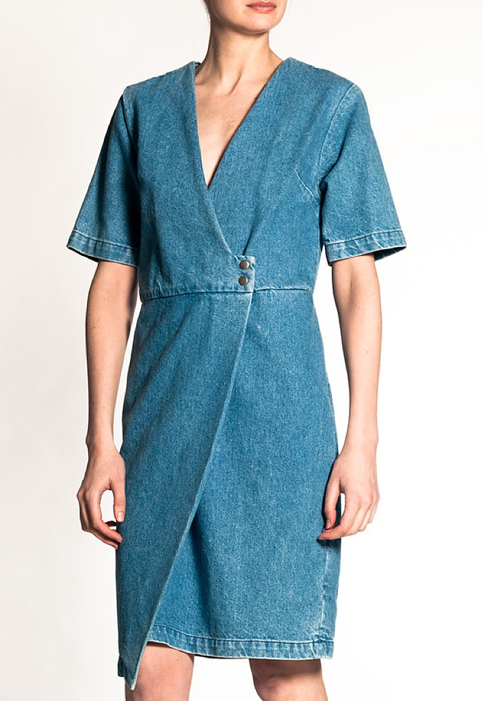 I'm pretty obsessed with Rachel Comey's Spring collection and would love to add this denim Ficus dress ($429) to my warm-weather rotation. Pair it with strappy flats and I'm ready for wherever the weekend takes me. — Chi Diem Chau