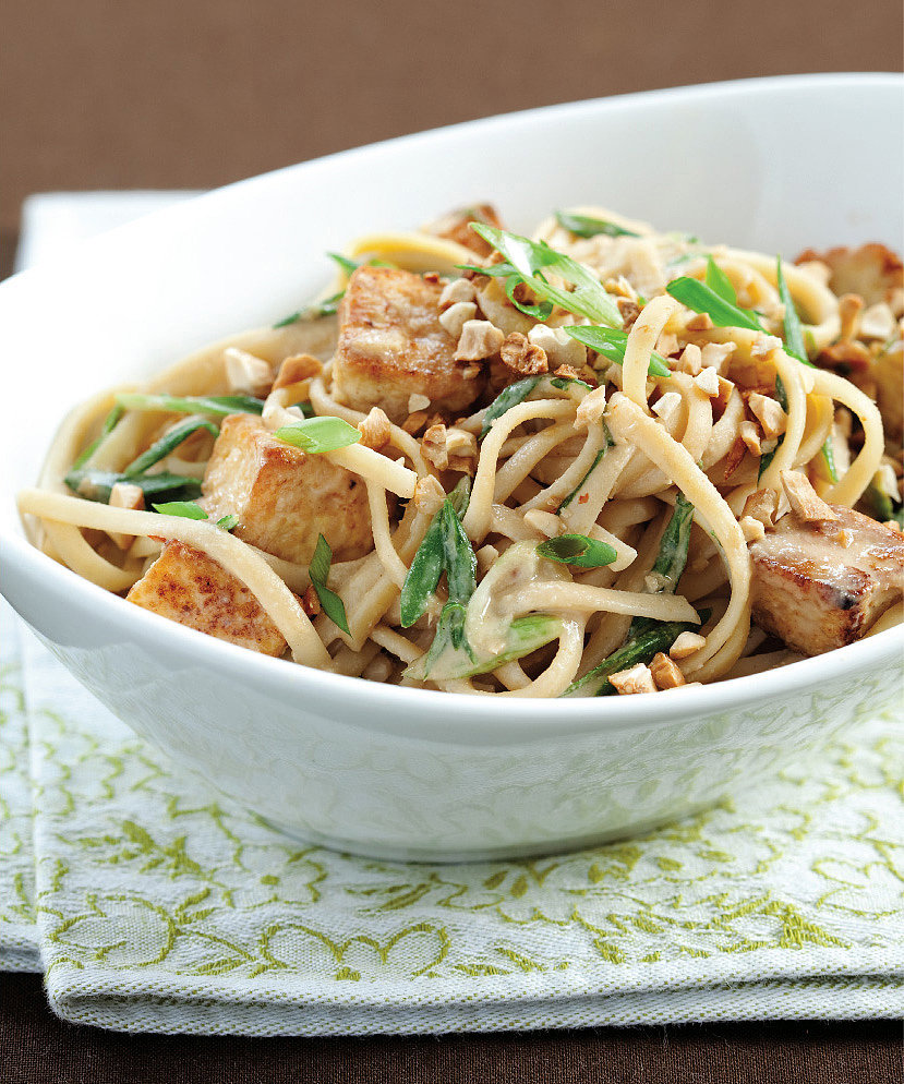 Now Try This: Sesame Noodles With Tofu, Scallions, and Cashews