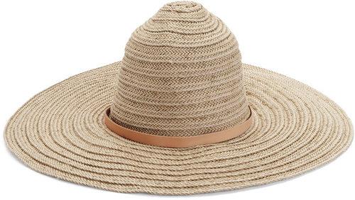 Braided Beach Hat - Natural