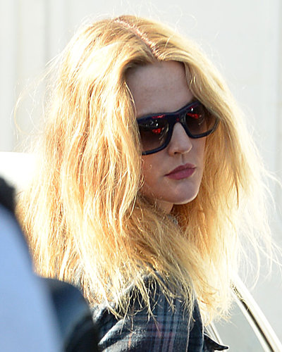 Drew Barrymore Blonde Hair