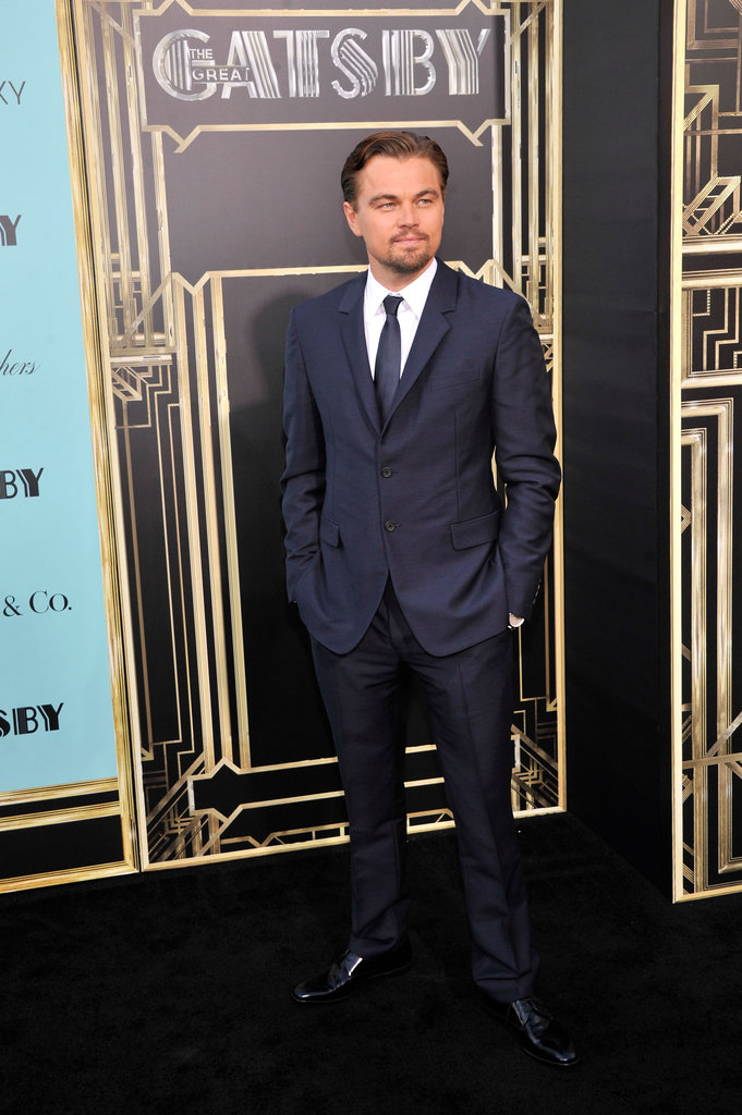 Leonardo DiCaprio arrived at the NYC premiere of The Great Gatsby.