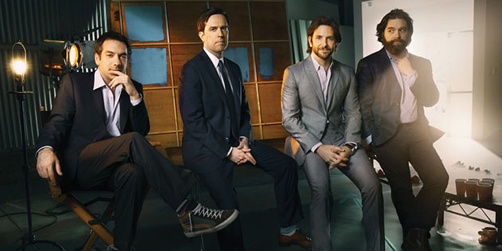 Video: Bradley Cooper and the Wolf Pack Share Behind-the-Scenes Stories About The Hangover!