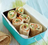 Goat Cheese and Veggie Pinwheels