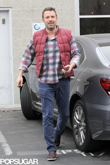Ben Affleck stopped by an office in Santa Monica.