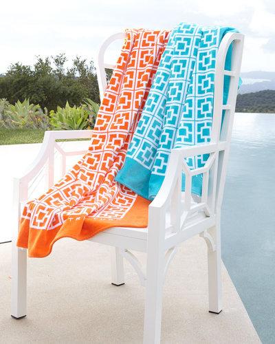 Trina Turk Palm Springs Block Beach Towel