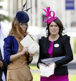 Princesses Beatrice and Eugenie stepped out at Royal Ascot 2010 in artful hats.