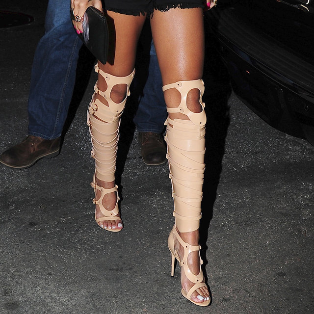 Celebrities Wearing Sandal Boots: Do You Rate the Trend?