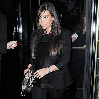 Kim Kardashian at Beyonce's Concert in London