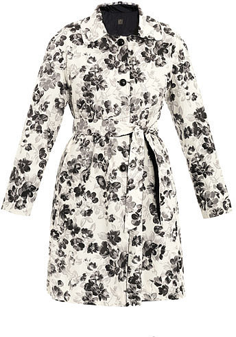 Weekend by MaxMara Elodia floral print coat