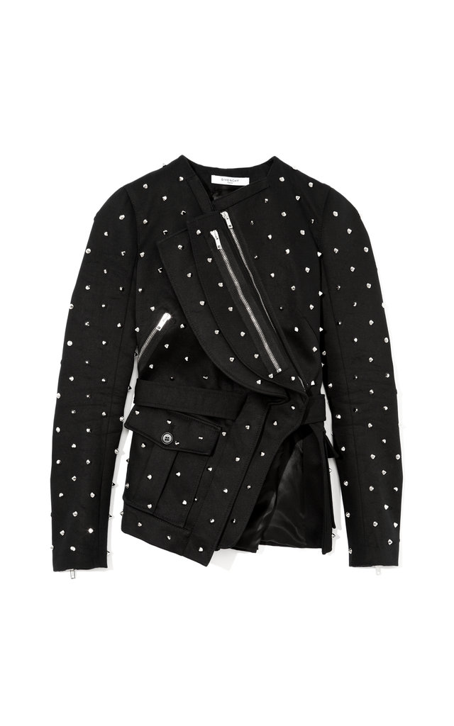 Givenchy Embellished Cotton Jacket With Black Pleats ($6,200)