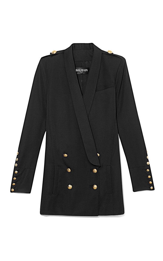 Balmain Double Breasted Long Blazer ($5,025)