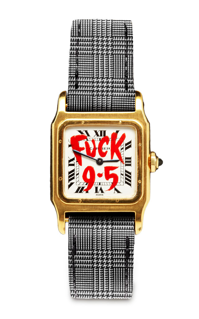 Foundwell Customized Vintage Cartier Watch ($13,750)