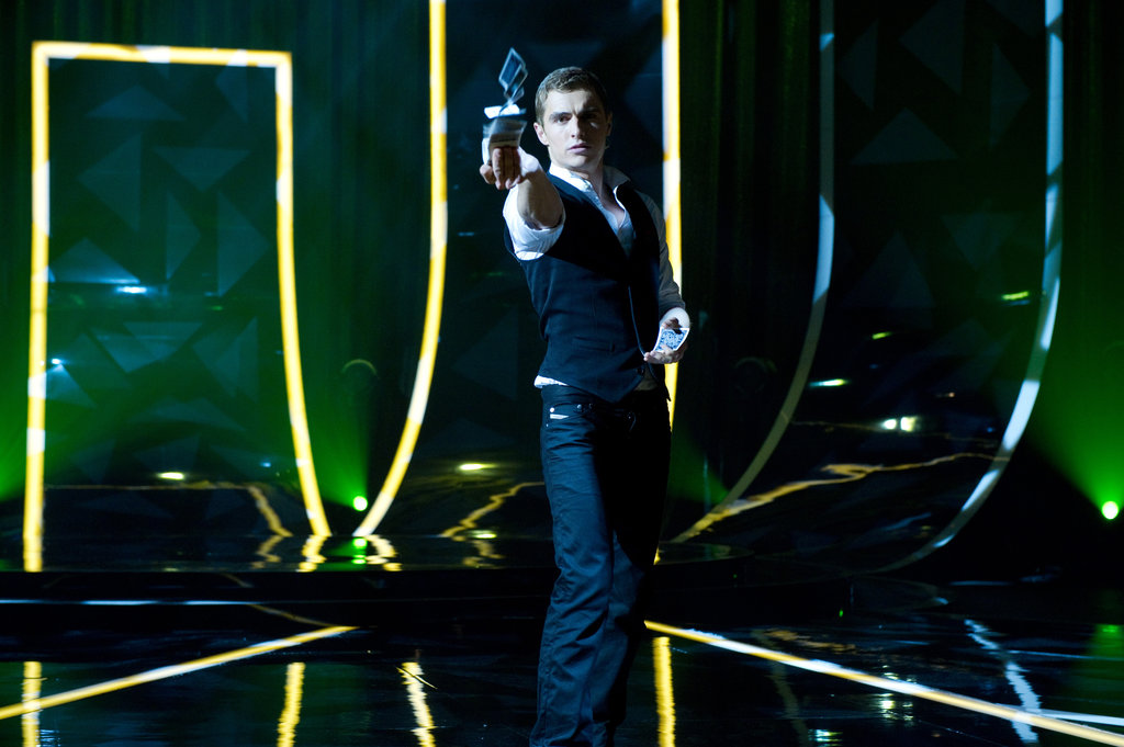 "Dave Franco as Jack Who knew a magician could be so hot? In Now You See Me, Dave Franco gets all buttoned up as an illusionist who also robs banks — and we're pretty into his whole ""bad boy in a suit"" thing. Source: Summit Entertainment"
