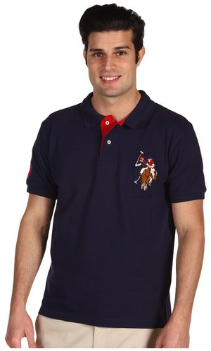 U.S. Polo Assn - Multicolor Horse Big Pony (Black) - Apparel