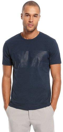 'Tee Logo' | Cotton Graphic T-Shirt by BOSS Green