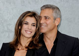 George Clooney met Italian beauty and TV personality Elisabetta Canalis in Rome in 2009. Over the years they enjoyed romantic motorcycle rides and steamy red-carpet moments.