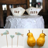27 Wedding Cake Toppers From Etsy