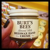 We're big fans of this Burt's Bees hand cream. Good ones are hard to find, so this one is a go-to product.