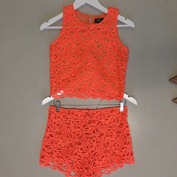 How adorable is this May The Label two-piece? Bring on Summer, please!