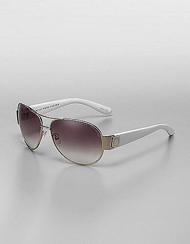 MARC BY MARC JACOBS Logo Aviator Sunglasses