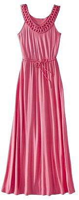 Merona® Women's Crochet Neck Maxi Dress - Assorted Colors
