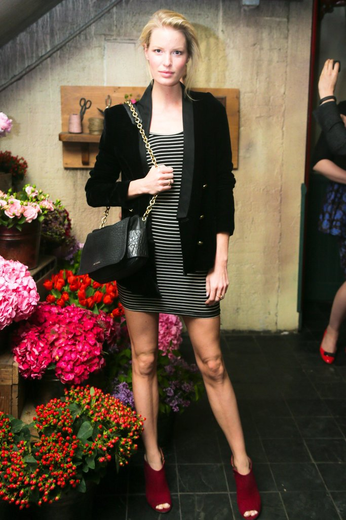 Caroline Winberg at Ferragamo's launch of L'Icona in New York. Source: David X Prutting/BFAnyc.com