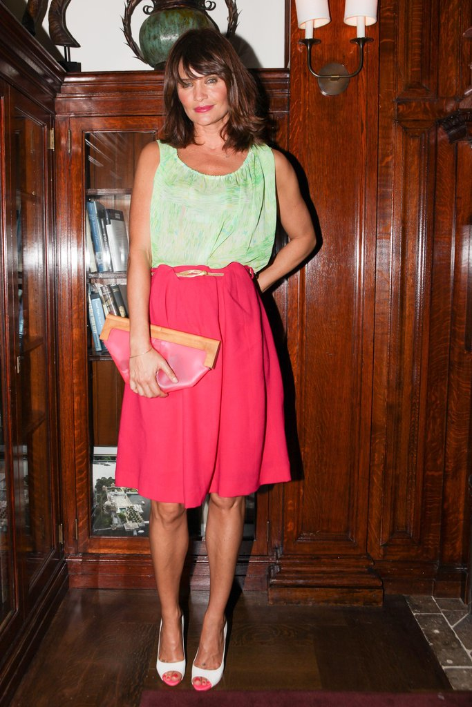 Helena Christensen at The Luxury Collection's Hotel Stories launch in New York. Source: Angela Pham/BFAnyc.com