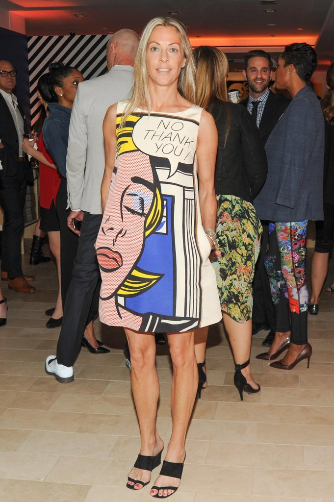 Sue Hostetler at the Barneys Lichtenstein Collection Launch in New York. Source: Neil Rasmus/BFAnyc.com