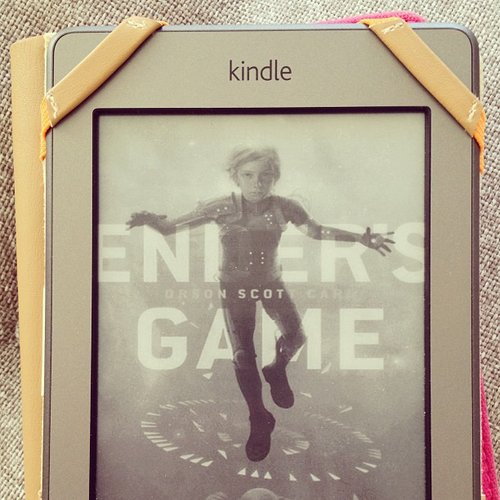 I read Ender's Game for my book club and loved it!