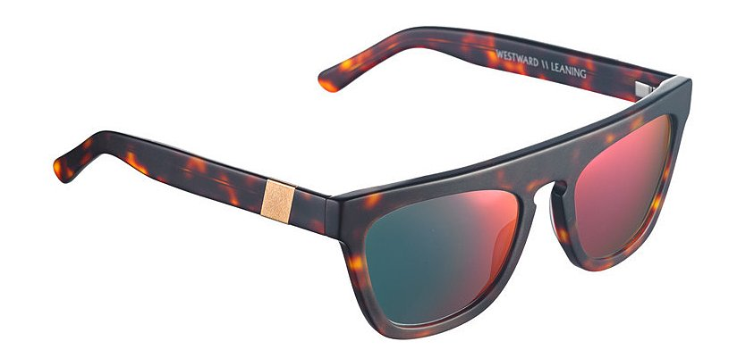 The new Futurism model 11.2 ($180) features a flat-top frame and neon sunset lenses.
