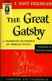The red and yellow colors on this Great Gatsby edition from 1946 really pop.