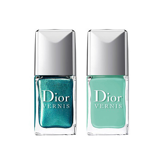 The Dior Vernis Bird of Paradise Nail Duo in Samba ($29) is the quintessential turquoise pairing for Summer.
