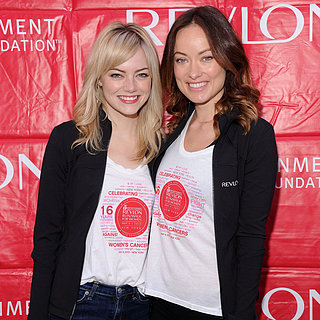 Emma Stone and Olivia Wilde at NYC Revlon Walk For Women