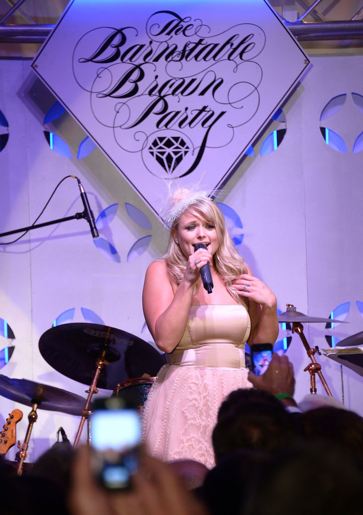 Miranda Lambert attended Friday's Barnstable Brown Gala.