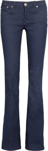Victoria Beckham Denim Clean mid-rise flared jeans