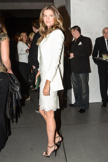 Gisele Bündchen at the opening of Dolce & Gabbana's Fifth Avenue boutique. Matteo Prandoni/BFAnyc.com