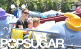 Jennifer Garner had a girls day in Disneyland with Violet and Seraphina Affleck.
