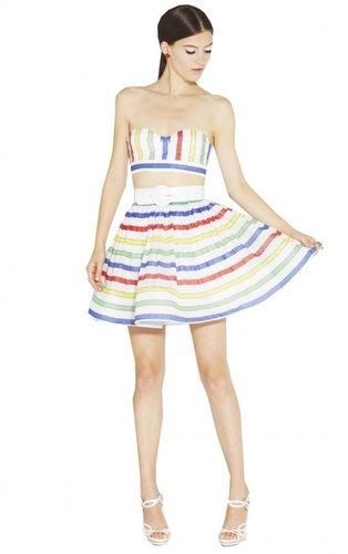 Maryna High Waist Flair Skirt